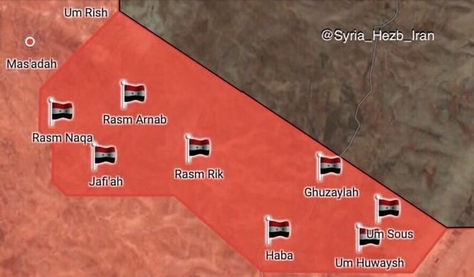 Quân Syria đè bẹp IS, chiếm liên tiếp 8 cứ địa trên sa mạc Homs (video) ảnh 1