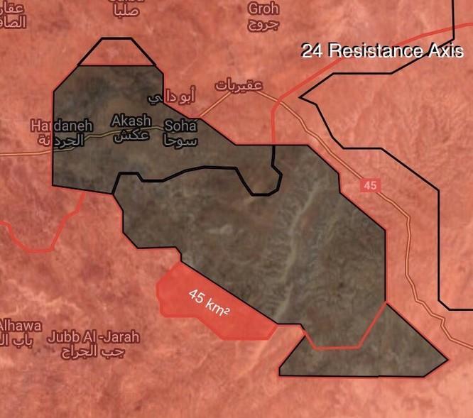Quân Syria đè bẹp IS, chiếm liên tiếp 8 cứ địa trên sa mạc Homs (video) ảnh 2