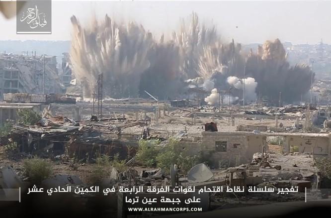 Quân Syria hứng thất bại khủng khiếp tại chiến trường ven Damascus ảnh 1