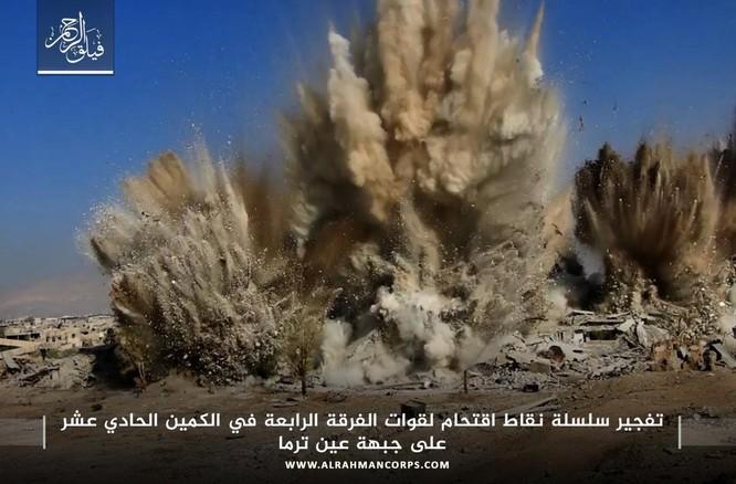 Quân Syria hứng thất bại khủng khiếp tại chiến trường ven Damascus ảnh 2