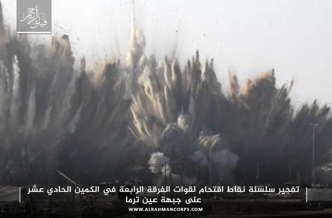 Quân Syria hứng thất bại khủng khiếp tại chiến trường ven Damascus ảnh 4
