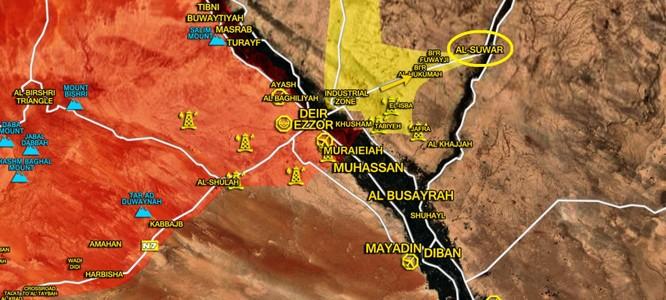 Nga càn quét, quân đội Syria gắng kết liễu IS tại chảo lửa Deir Ezzor (video) ảnh 2