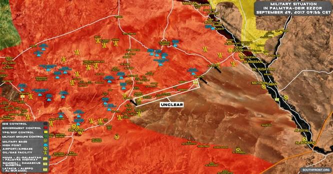 """Chảo lửa Deir Ezzor sôi sực, tướng """"Hổ Syria"""" bị IS bao vây ảnh 1"""
