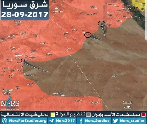 Quân đội Syria khủng hoảng tại chiến trường Deir Ezzor, người Kurd đắc lợi ảnh 5