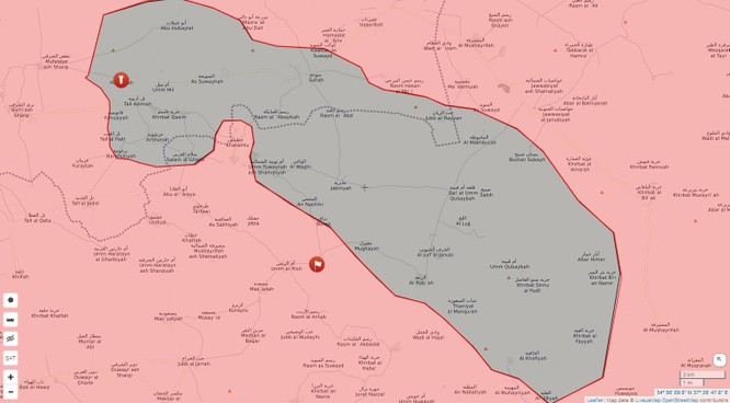 Quân Syria siết vòng vây IS, đoạt 2 cứ địa phiến quân tại Homs, Hama ảnh 1