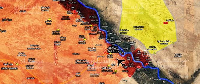 Không quân Nga dội lửa, tăng thiết giáp Syria rầm rập vượt Euphrates đánh IS (video) ảnh 1