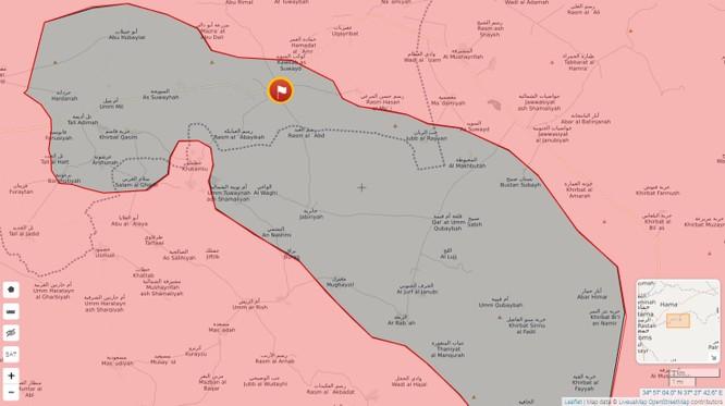 Quân Syria kịch chiến IS, đoạt cứ địa chiến lược tại Hama ảnh 1