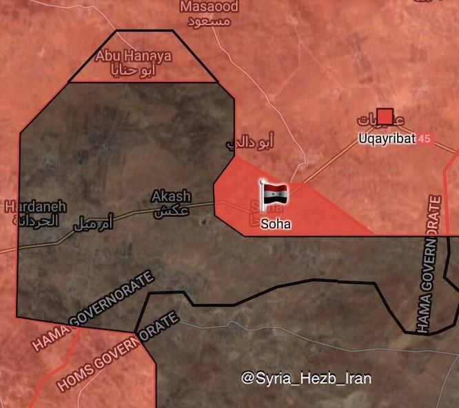 Quân Syria đánh tan IS, đoạt hàng loạt cứ địa tại Homs, Hama (video) ảnh 1