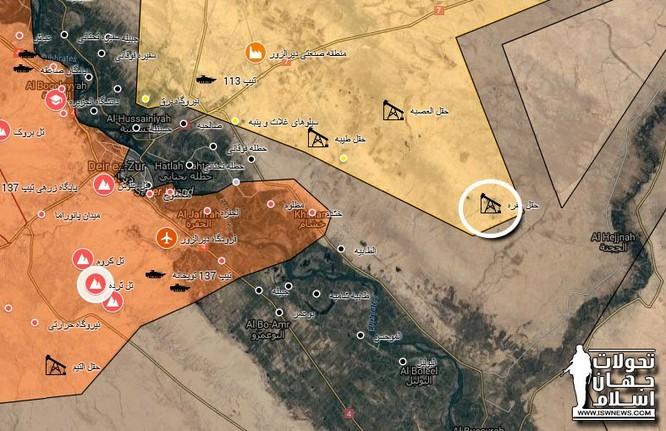 Cậy thế Mỹ, người Kurd tung quân chặn quân Syria ở đông Euphrates ảnh 1
