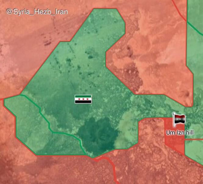 Chiến sự Syria: Quân Assad quét sạch phiến quân, chiếm 135 km2 lãnh thổ gần biên giới Jordan ảnh 1