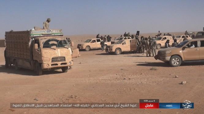 IS dồn quân thiện chiến, xe tăng quyết ăn thua với quân đội Syria ảnh 1