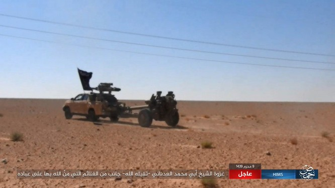 IS dồn quân thiện chiến, xe tăng quyết ăn thua với quân đội Syria ảnh 3