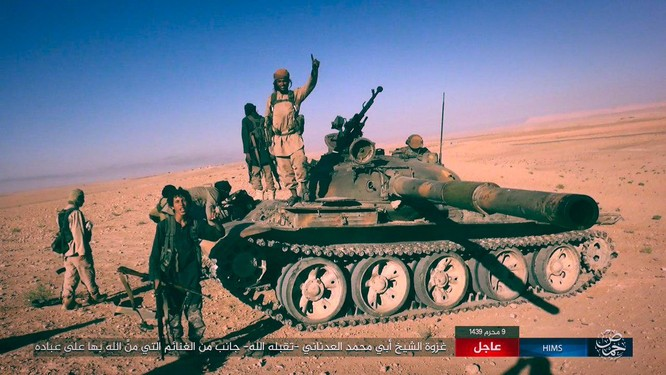 IS dồn quân thiện chiến, xe tăng quyết ăn thua với quân đội Syria ảnh 4