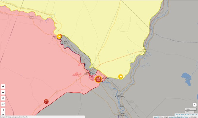 """Mỹ """"chống lưng"""" người Kurd chiếm đất Syria dựng quốc gia riêng ảnh 3"""
