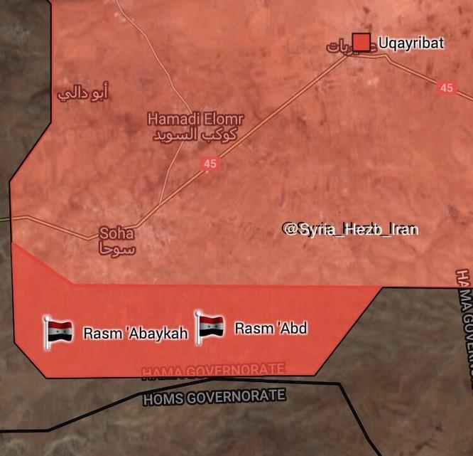 Quân đội Syria đánh bật IS, chiếm thêm hai cứ địa ở đông Hama (video) ảnh 1