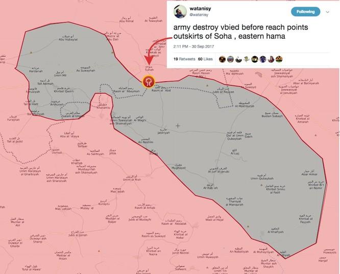 Quân đội Syria đánh bật IS, chiếm thêm hai cứ địa ở đông Hama (video) ảnh 2