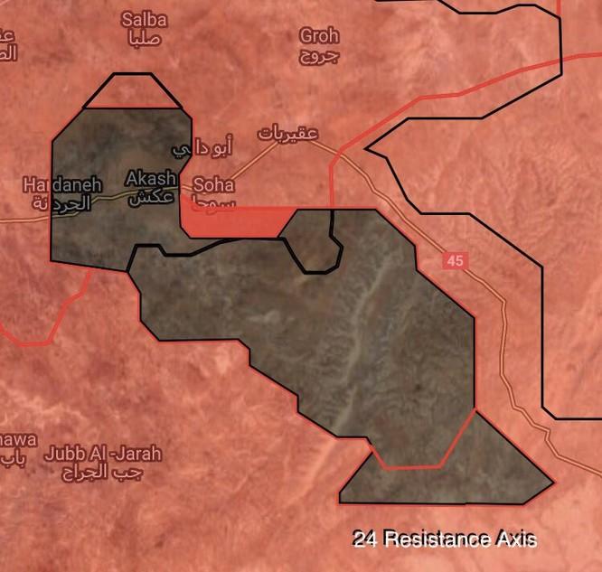 Quân đội Syria đánh bật IS, chiếm thêm hai cứ địa ở đông Hama (video) ảnh 3
