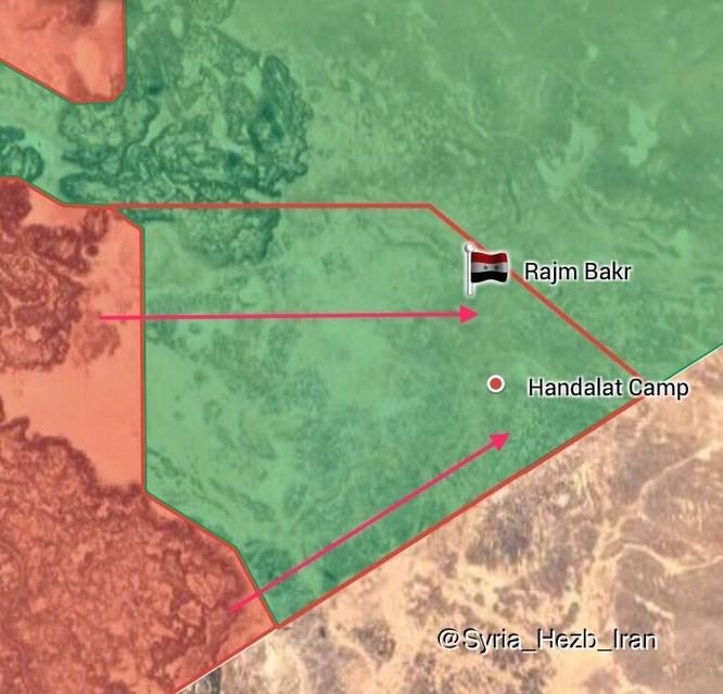 Quân đội Syria đánh dập đầu phiến quân Mỹ hậu thuẫn, đoạt hàng loạt đồn biên phòng ảnh 1