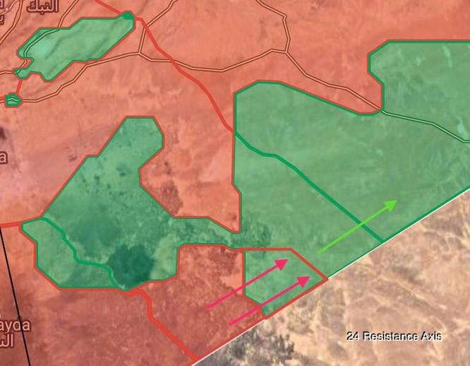 Quân đội Syria đánh dập đầu phiến quân Mỹ hậu thuẫn, đoạt hàng loạt đồn biên phòng ảnh 2