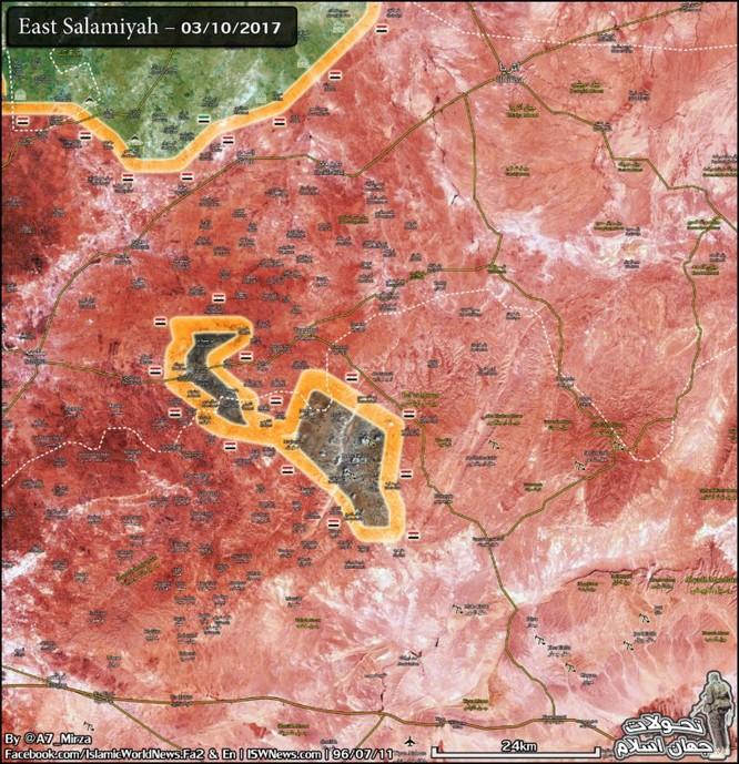 Quân Syria vây diệt IS, đoạt hàng loạt cứ địa phiến quân tại Hama ảnh 1