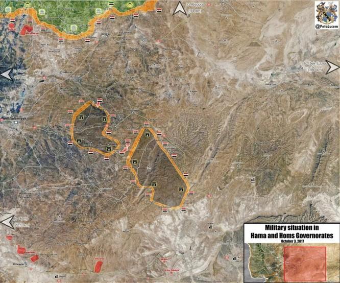 Quân Syria vây diệt IS, đoạt hàng loạt cứ địa phiến quân tại Hama ảnh 2