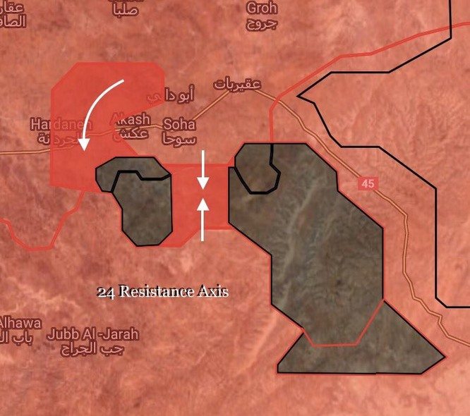 Chảo lửa Homs sôi sục, IS quyết kéo quân đội Syria khỏi Deir Ezzor ảnh 9
