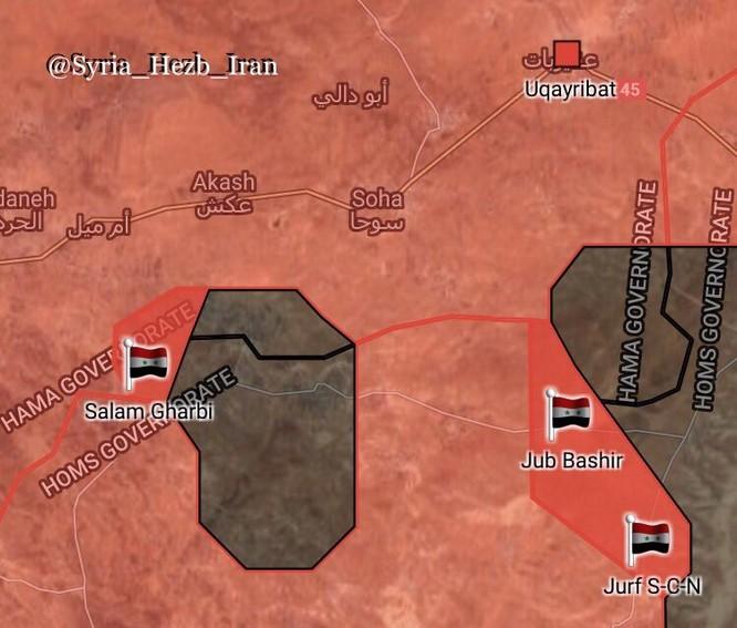 Quân đội Syria vây dồn IS, quyết diệt sạch khủng bố ảnh 3