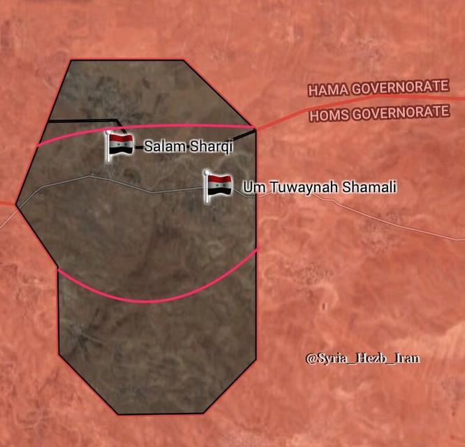 Quân đội Syria đè bẹp phiến quân, chiếm 4 cứ địa trong vòng vây IS phía đông Hama ảnh 1