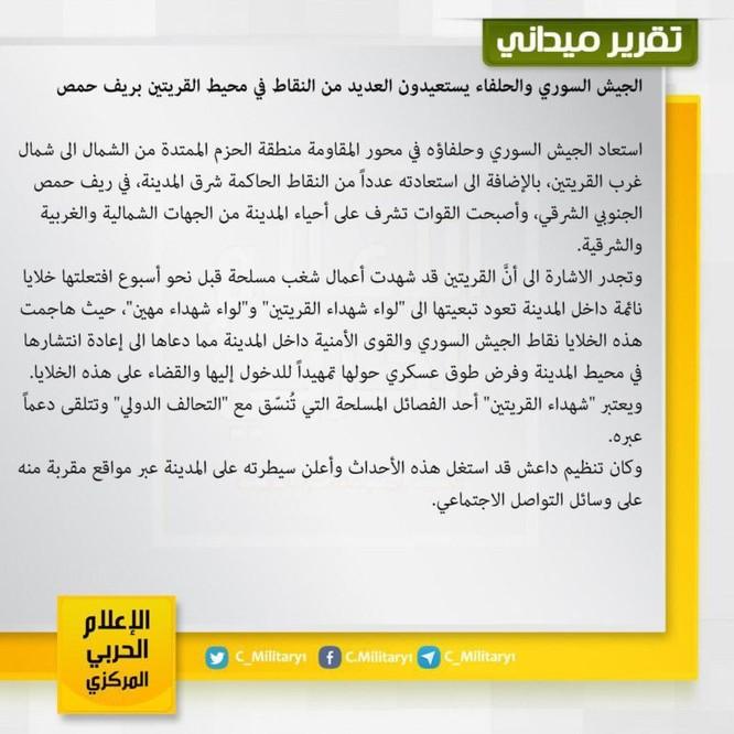 IS liên thủ phiến quân Mỹ hậu thuẫn tấn công quân đội Syria ảnh 1
