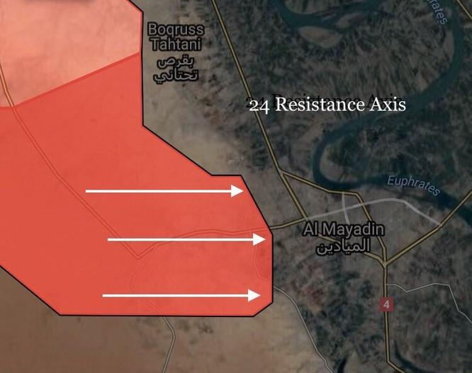 Quân Syria tấn công IS tại đông Deir Ezzor, đánh chiếm thành trì Mayadeen ảnh 2