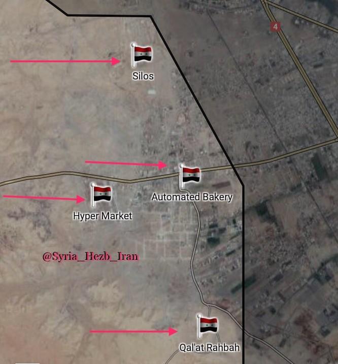 Quân Syria tấn công IS tại đông Deir Ezzor, đánh chiếm thành trì Mayadeen ảnh 3