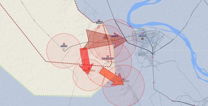 Quân đội Syria sắp tung đòn chiếm thành trì IS ở tỉnh Deir Ezzor ảnh 1