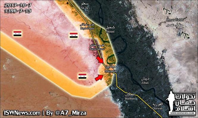 """""""Hung thần"""" nhiệt áp TOS-1A Nga sắp được tung vào đánh IS ở Deir Ezzor ảnh 2"""
