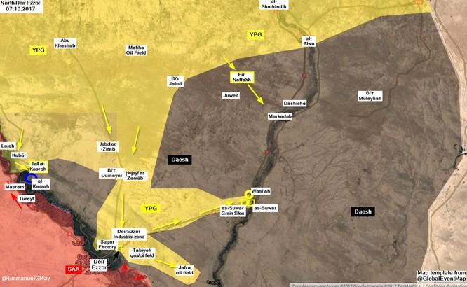 Đặc nhiệm Syria băng qua Euphrates tấn công IS tại Deir Ezzor ảnh 1
