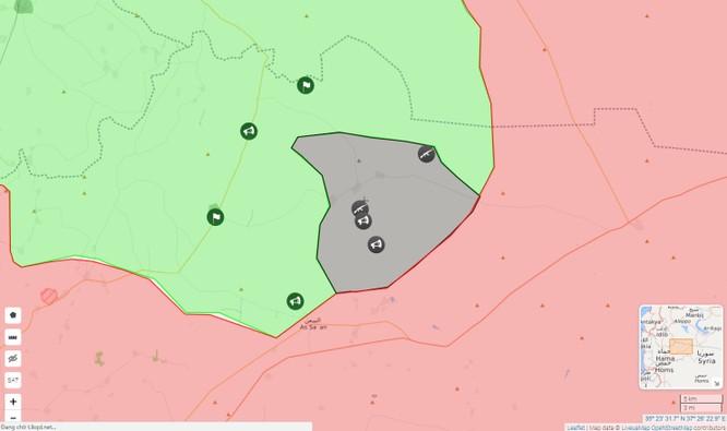 IS bất ngờ tấn công, quân đội Syria nguy cơ khủng hoảng tại chiến trường Hama ảnh 1
