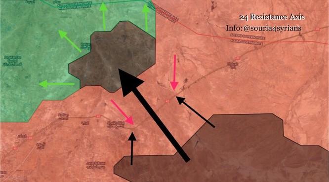 Mở đường máu phá vây, hàng loạt chiến binh IS mất mạng ảnh 4