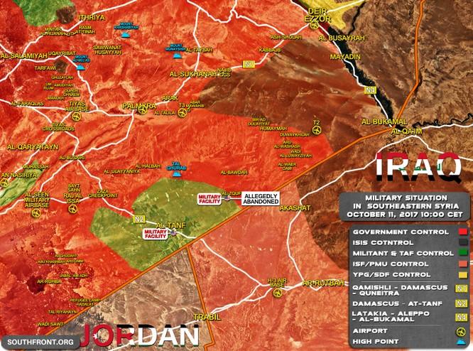 Mỹ giải thoát IS ở Raqqa, làm ngơ cho khủng bố tấn công quân đội Syria ảnh 1