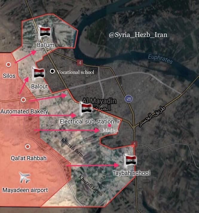 """Nga trút thịnh nộ, """"Hổ Syria"""" đánh chiếm nhiều khu phố tại sào huyệt IS ảnh 1"""