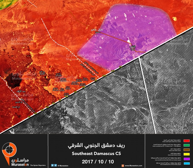 Quân đội Syria nghiền nát FSA Mỹ chống lưng, quét sạch biên giới với Jordan (video) ảnh 1