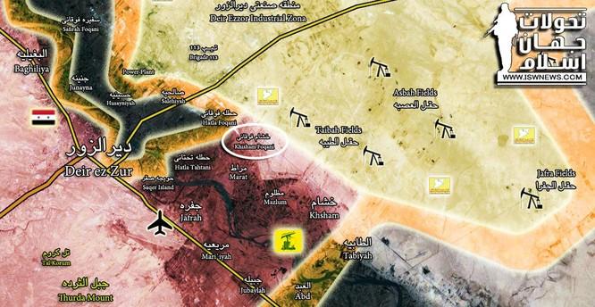 Chiến sự Syria: Bất chấp Mỹ-Kurd, quân Assad vượt Euphrates tấn công IS ảnh 1