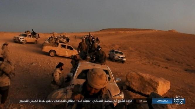 Quân đội Syria sắp tung đòn chiếm cứ địa IS tại Homs ảnh 10