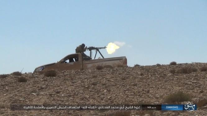 Quân đội Syria sắp tung đòn chiếm cứ địa IS tại Homs ảnh 12