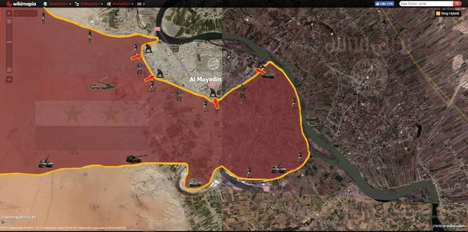 Không quân Nga giáng sấm sét, quân đội Syria vây diệt IS tại chảo lửa Al-Mayadeen ảnh 1