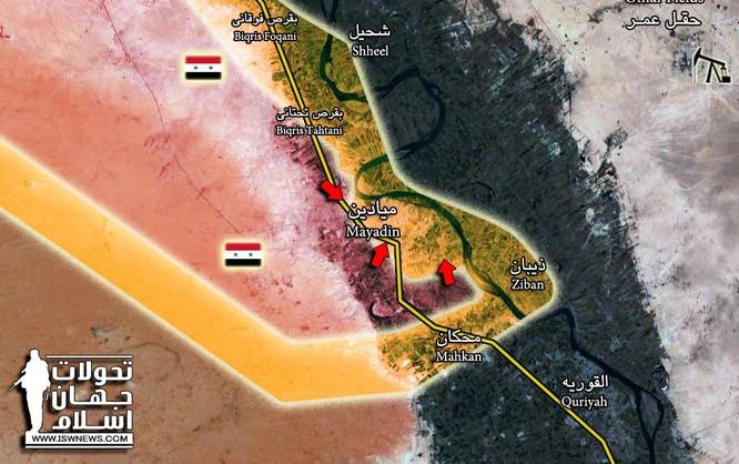 """""""Hổ Syria"""" chủ công đè bẹp IS, đoạt một nửa sào huyệt Mayadeen ảnh 1"""