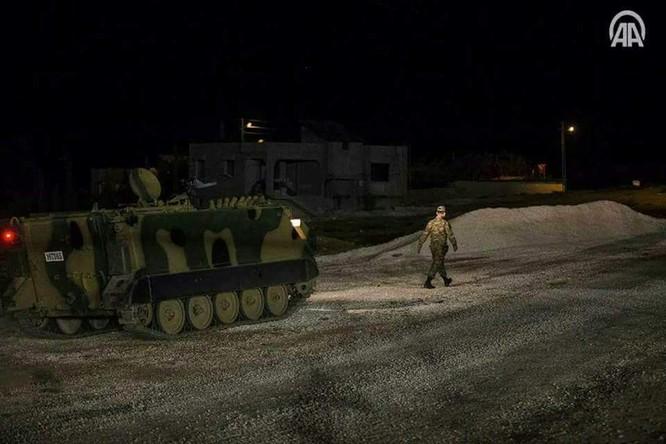 Thổ Nhĩ Kỳ điều binh vào lãnh thổ Syria, liên thủ với phiến quân khủng bố (video) ảnh 4