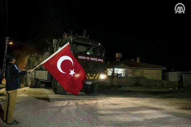 Thổ Nhĩ Kỳ điều binh vào lãnh thổ Syria, liên thủ với phiến quân khủng bố (video) ảnh 5