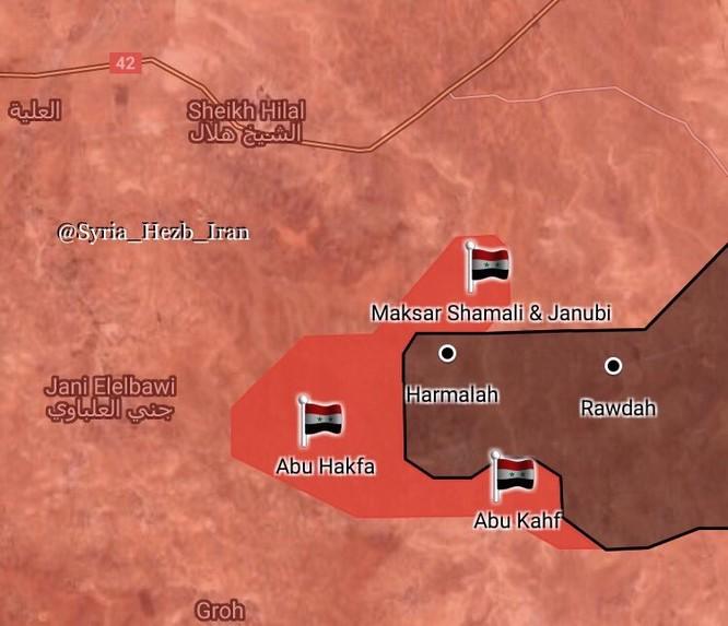 Quân đội Syria ồ ạt đánh chiếm hàng loạt địa bàn trọng yếu của IS ở Deir Ezzor, Hama ảnh 1
