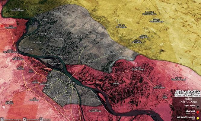 Quân Syria đè bẹp IS, chiếm thêm thị trấn bờ đông Euphrates ảnh 2