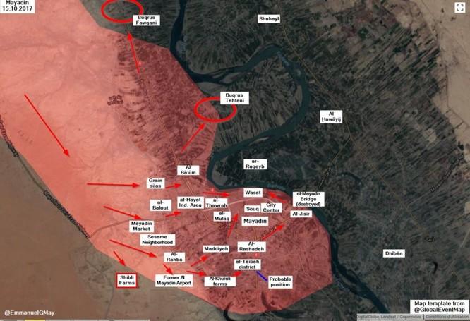 """""""Hổ Syria"""" xốc tới chiếm cứ địa IS, sắp băng qua Euphrates đoạt mỏ dầu (video) ảnh 1"""