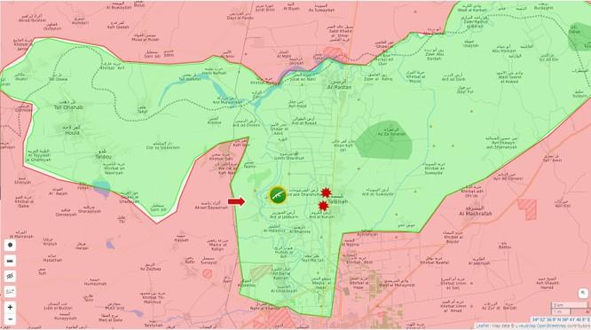 Phiến quân Syria bất ngờ tấn công quân chính phủ tại Homs ảnh 1
